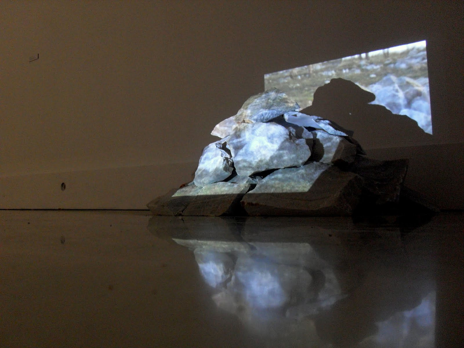 memories of a stone, installation, 2012